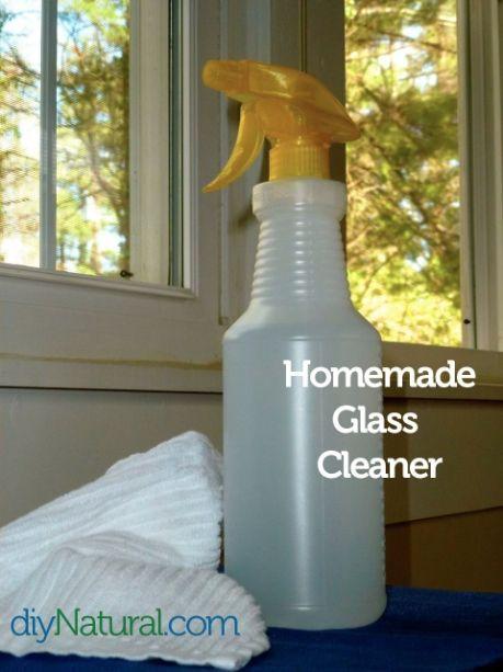 homemade nettoyant vitre et de printemps conseils de nettoyage. Black Bedroom Furniture Sets. Home Design Ideas