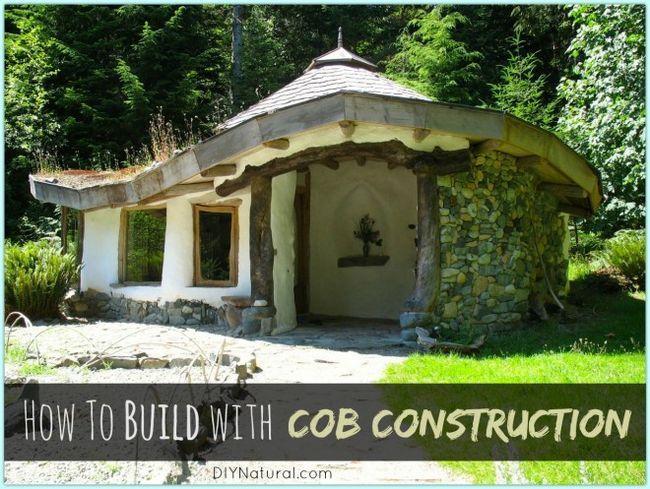 Comment construire une maison avec cob cob construction - Comment estimer une maison ...