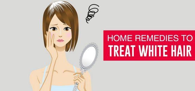 10 efficaces rem des maison pour traiter les cheveux blancs. Black Bedroom Furniture Sets. Home Design Ideas