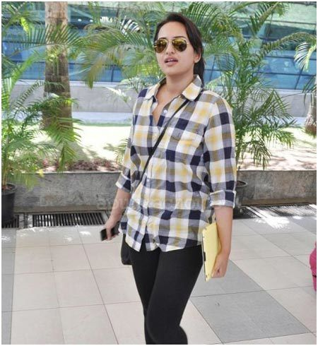 Sonakshi Sinha photo sans maquillage