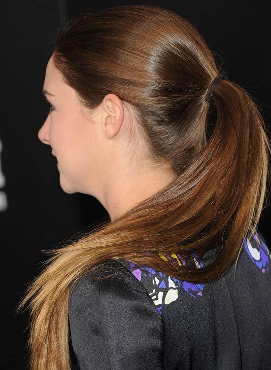 50 coiffures simples de longueur moyenne des cheveux