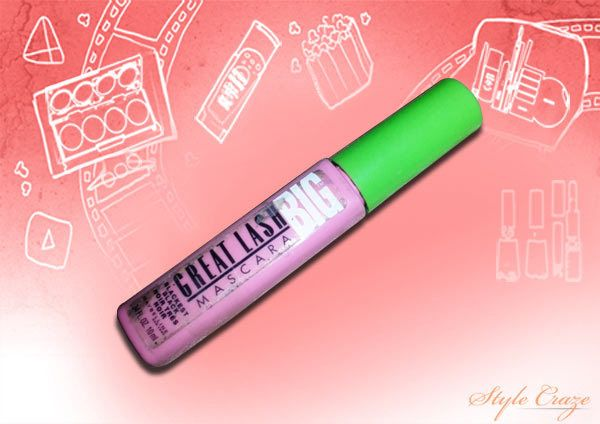 Maybelline mascara Great Big lavable cils