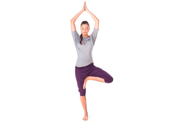 arbre pose de yoga avantages