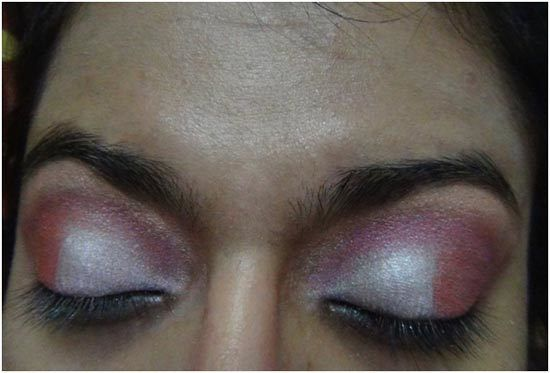 oeil rose maquillage ombre 5