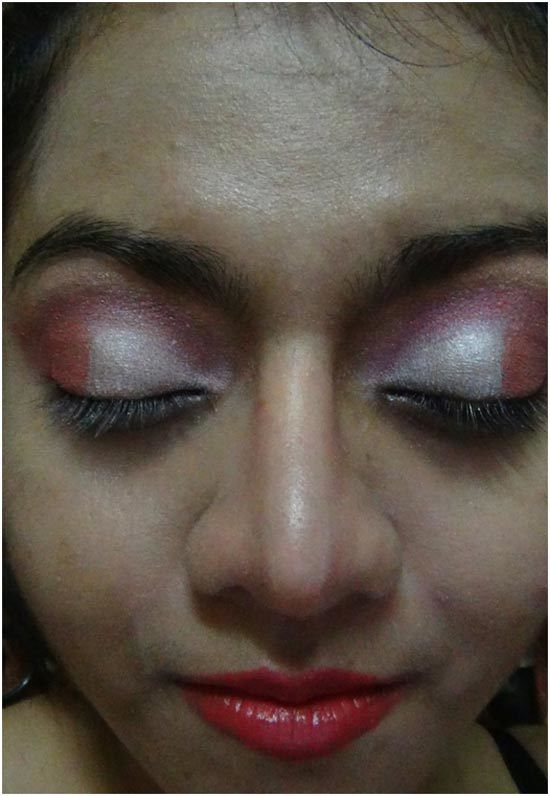oeil rose maquillage ombre 6