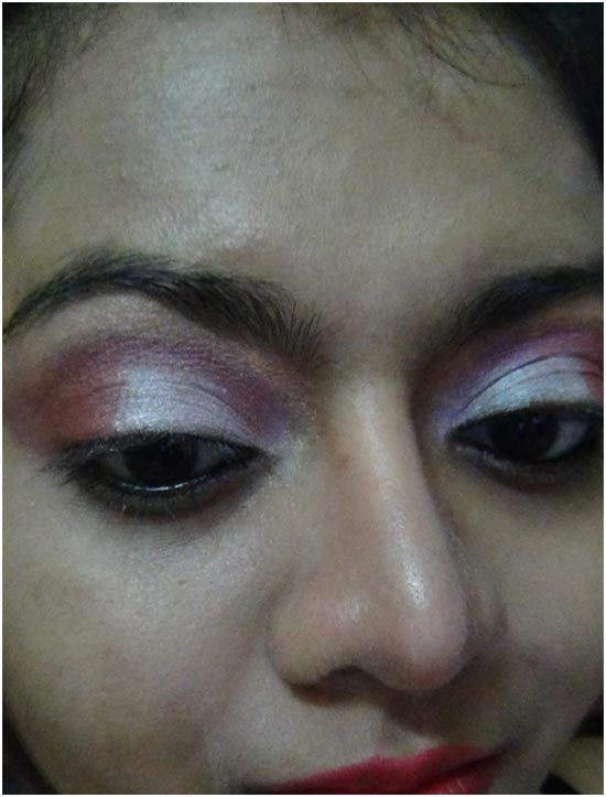 oeil rose maquillage ombre 7