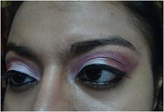 oeil rose maquillage ombre 8
