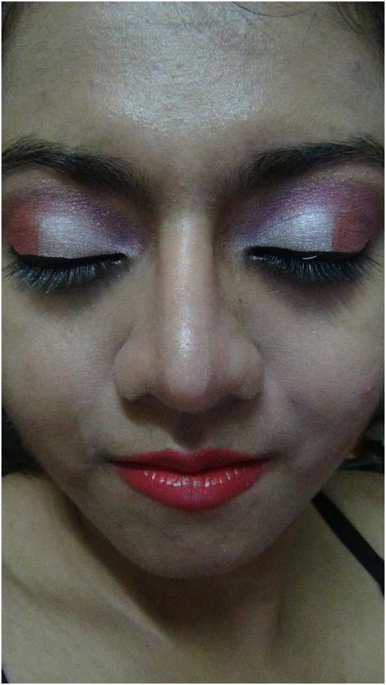 oeil rose maquillage ombre 9