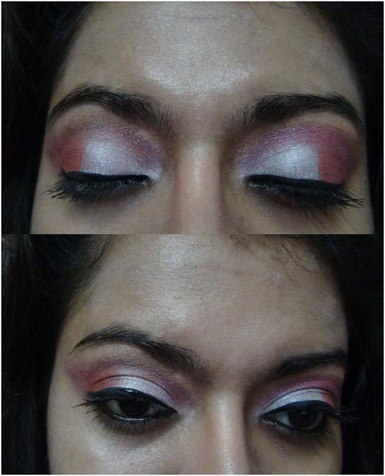 oeil rose maquillage ombre 13