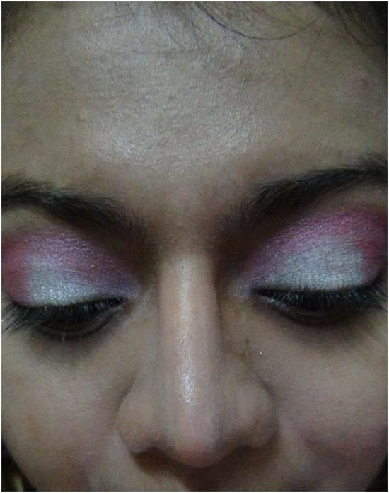 pink eye shadow maquillage 2