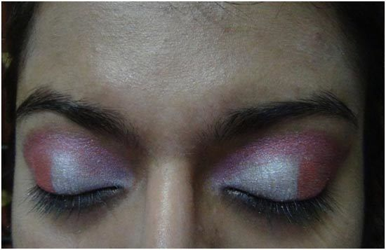 pink eye shadow maquillage 3