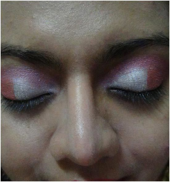 pink eye shadow maquillage 4