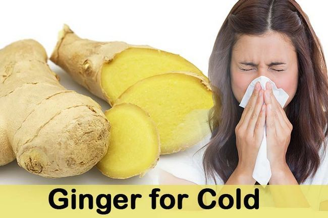 Ginger pour le froid
