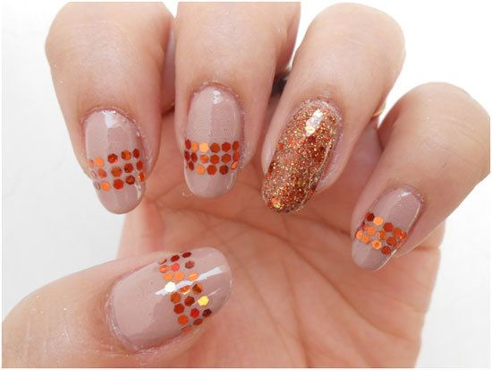 paillettes ongles tendance à ongles