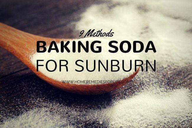 Comment traiter les coups de soleil avec du bicarbonate de - Comment soigner coup de soleil ...