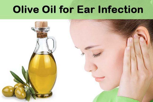 huile olive dans l'oreille
