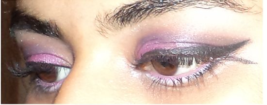 Finale look maquillage des yeux