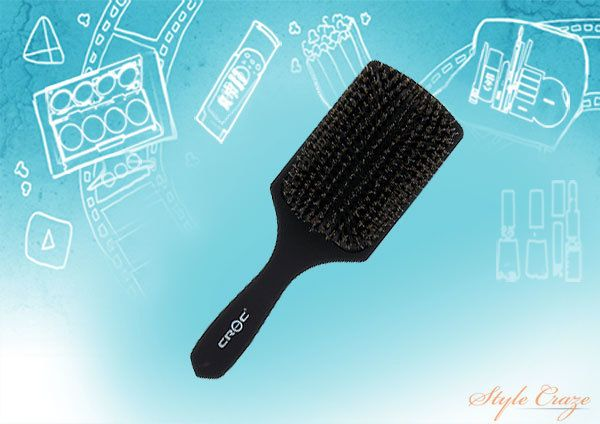 Poils de sanglier Paddle Brush
