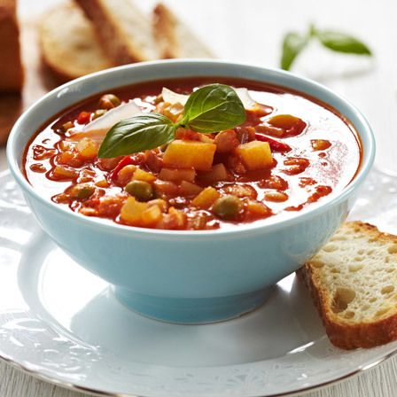Facile Low Cal Soupe minestrone
