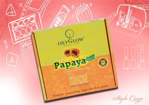 OxyGlow Papaya Facial Kit